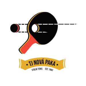 Zbrusu nové logo oddílu stolního tenisu TJ Nová Paka!